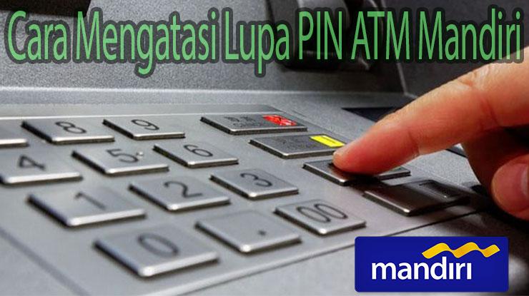 Lupa PIN ATM Mandiri