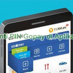 Cara Ganti PIN Gopay di Aplikasi Gojek