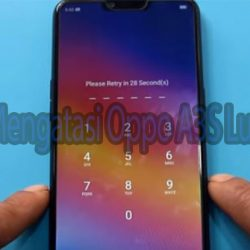 Oppo A3S Lupa PIN