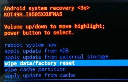 Atasi Lupa Password HP Realme Wipe Data