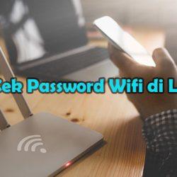 Cara Cek Password Wifi di Laptop Via Control Panel
