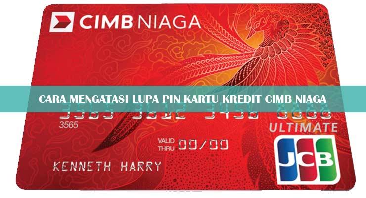 Lupa PIN Kartu Kredit CIMB Niaga