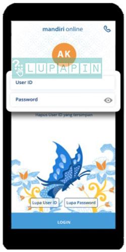 Lupa Mandiri Online 2021 Userid Password Mpin Lupapin
