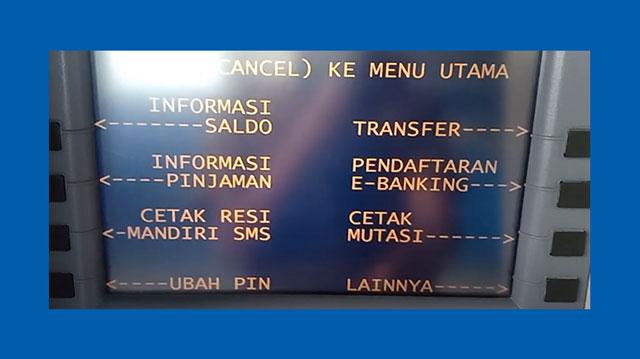 5 Pilih Menu Ubah PIN