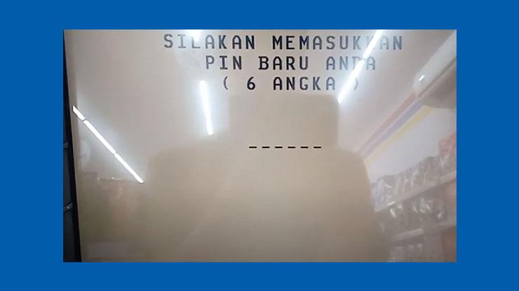 7 Tinggal memasukkan PIN ATM BCA baru 6 angka