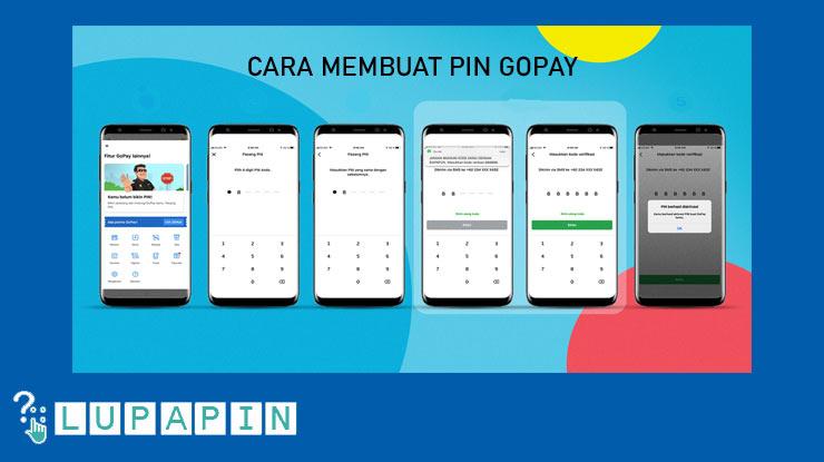 Cara Membuat PIN Aplikasi Gopay