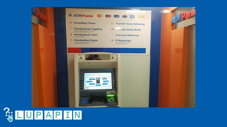 Ganti Lewat ATM Panin