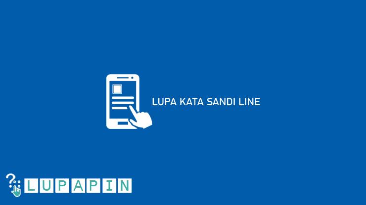 LUPA KATA SANDI LINE