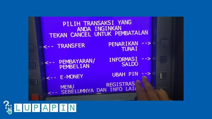 Lanjutkan dengan memilih Ubah PIN.