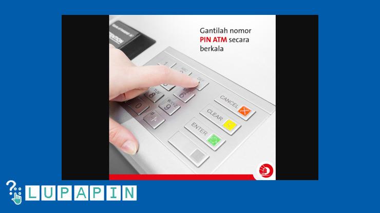 Mengganti PIN ATM OCBC Secara Berkala