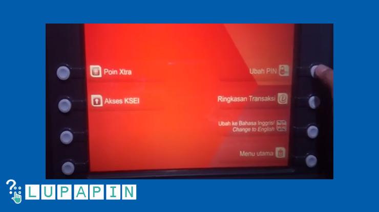 Ubah PIN Untuk Mengganti PIN Kartu ATM CIMB Niaga.