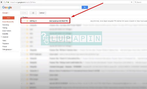 4. Buka Email