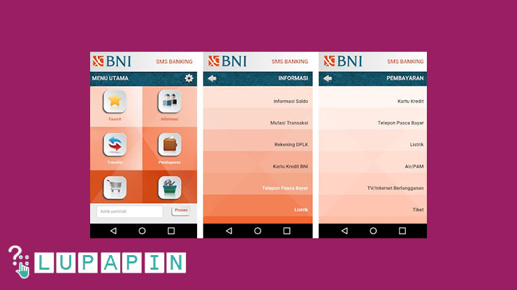 Cara Mengatasi Lupa PIN SMS Banking BNI Lewat Bank