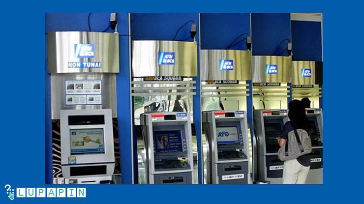Ganti Lewat Mesin ATM BCA Syariah