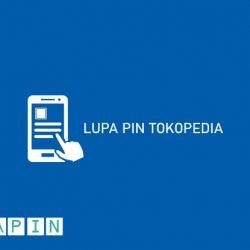Lupa PIN Tokopedia