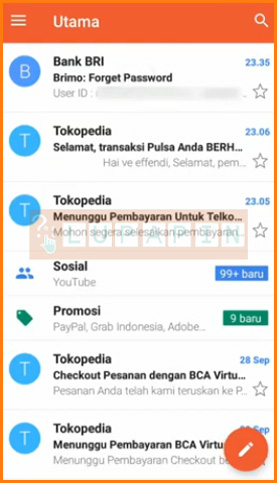 Buka Email