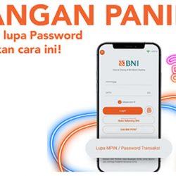 Cara Mengatasi Lupa Password Transaksi BNI Mobile