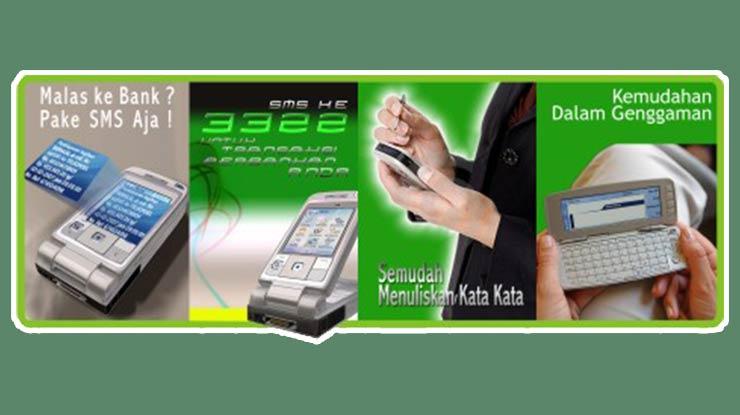 Fasilitas SMS Banking Bank Aceh