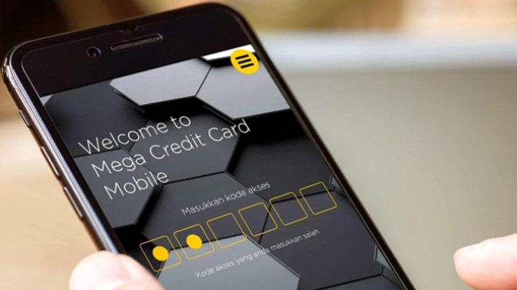 Lewat Aplikasi Mega Credit Card Mobile