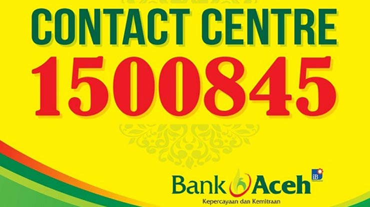 Lewat Contact Care Bank Aceh