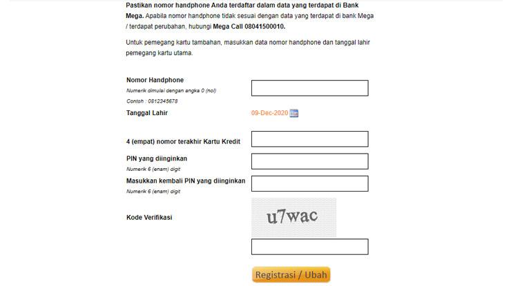 Lewat Situs Resmi Bank Mega