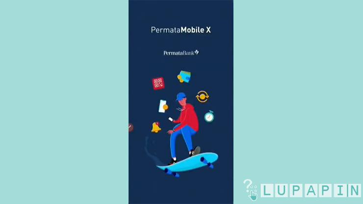 1 Buka Aplikasi Permata Mobile X