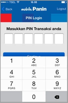 pin nomor baru