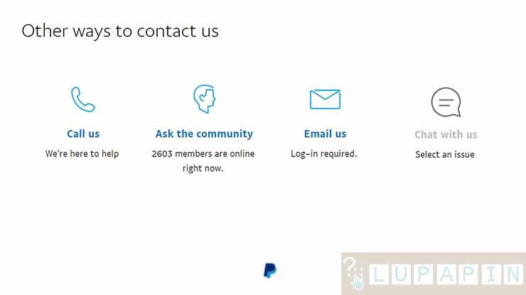 Cara Menghubungi Call Center PayPal