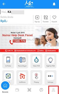 Ganti PIN Mobile Cash