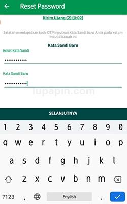 Password Pegadaian Digital