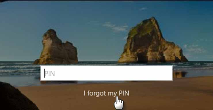 Reset PIN Microsoft Lewat Menu Login