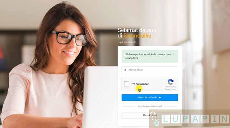lupa password fin