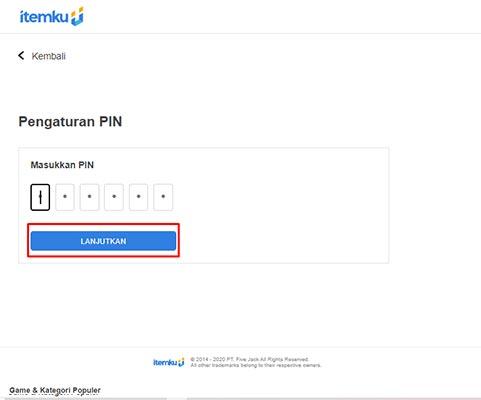 lupa pin online