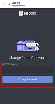 password discord