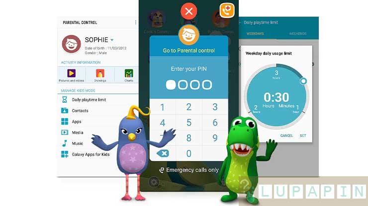 Cara Mengatasi Lupa PIN Beranda Anak Samsung