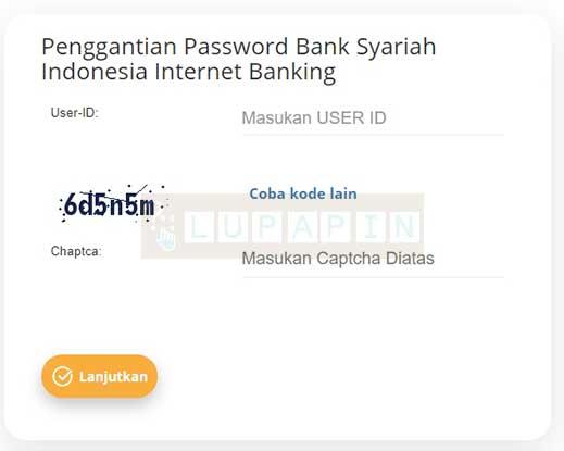 Lupa Password BSI Net