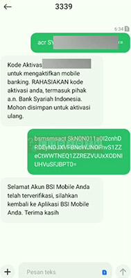 Mengganti Kata Sandi BSI Mobile