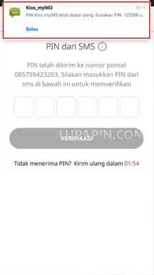 PIN Kios myIM3