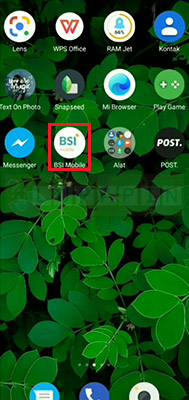 buka BSI Mobile