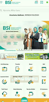 login Kata Sandi BSI Mobile