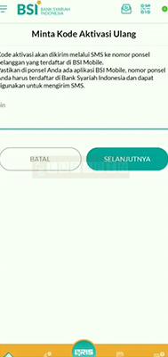 pin otentifikasi BSI Mobile