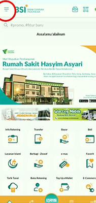 reset Kata Sandi BSI Mobile