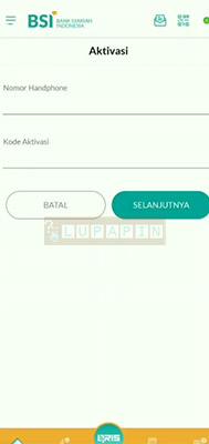 verifikasi Kata Sandi BSI Mobile