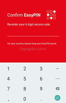 Password SimobiPlus Bankingh