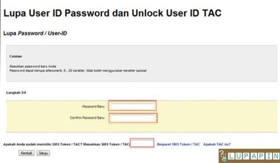 ganti password Maybank2u