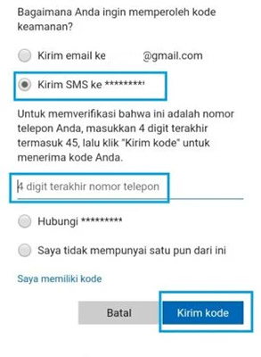 Cara Mengganti Password Outlook