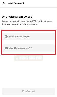 Cara Reset Password Bank Jago