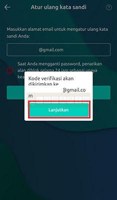 Cara Reset Password Freewallet