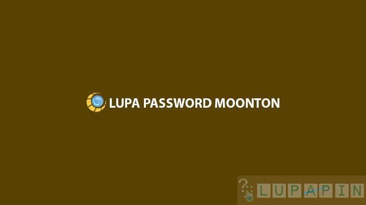 Lupa Password Moonton