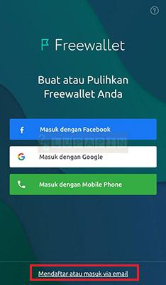 Password Freewallet